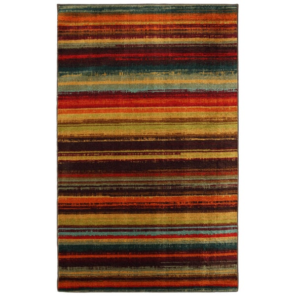 Mohawk Home New Wave Boho Stripe Multi 5 X 8