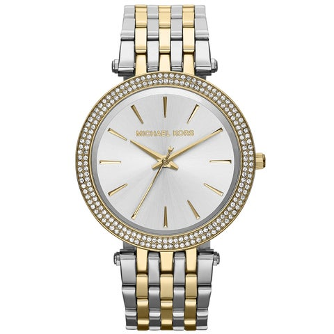 Michael Kors Women's Darci Two-Tone Glitz Watch