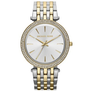 Michael Kors Women's MK3215 Darci Two-Tone Glitz Stainless Steel Watch