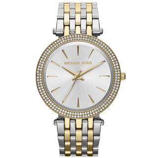 Michael Kors Women's MK3215 Darci Two-Tone Glitz Stainless Steel Watch