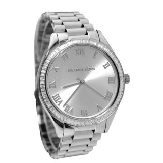 Michael Kors Women's MK3243 Blake Silver Dial Stainless Steel Bracelet Watch