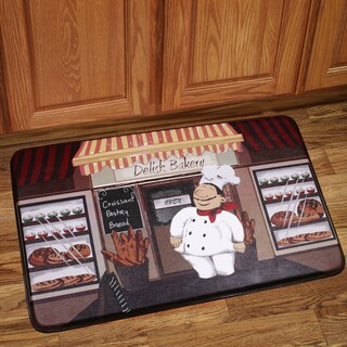 Anti Fatigue Happy Chef Design Kitchen Floor Mat