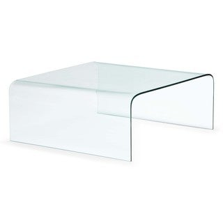 Zuo SojournClear Glass Coffee Table