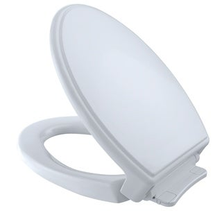 Toto Traditional SoftClose Elongated Toilet Seat and Lid SS154#01 Cotton White