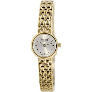 Tissot Women's T-Trend T058.009.33.031.00 Goldtone Stainless Steel Swiss Quartz Watch|https://ak1.ostkcdn.com/images/products/9194265/P16367222.jpg?impolicy=medium