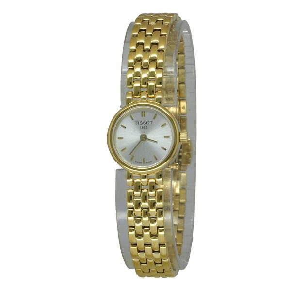Tissot Women's T-Trend T058.009.33.031.00 Goldtone Stainless Steel Swiss Quartz Watch