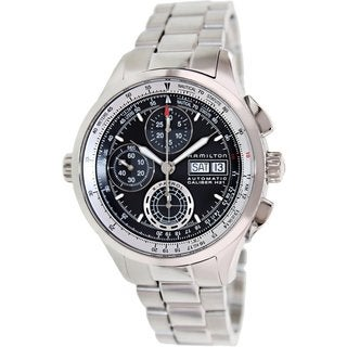Hamilton Khaki Aviation X-Patrol Auto Chrono Stainless Steel Men's Watch