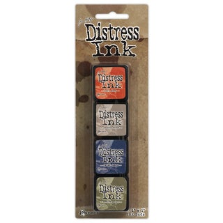 Distress Mini Ink Kits-Kit 5