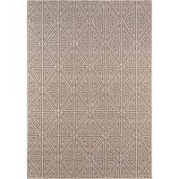 "Momeni Baja Diamonds Indoor/Outdoor Area Rug - 7'10"" x 10'10"""