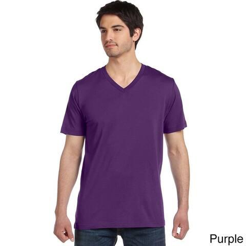 Canvas Men's Cotton V-neck T-Shirt