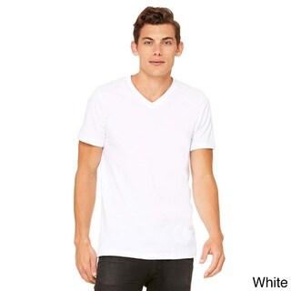 Canvas Men's Cotton V-neck T-Shirt (5 options available)