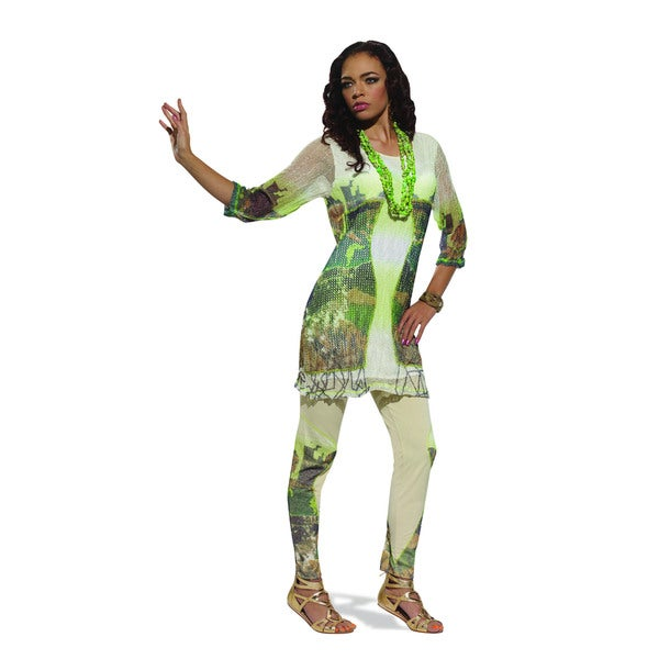 Women S 2 Piece Tunic And Legging Outfit Free Shipping