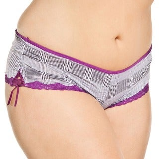 Prestige Biatta Women's Plus Hot-short with Satin Bows (3 options available)