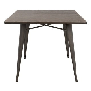 "Oregon 36"" Industrial Farmhouse Dining Table"