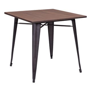 Titus Rustic Wood Dining Table