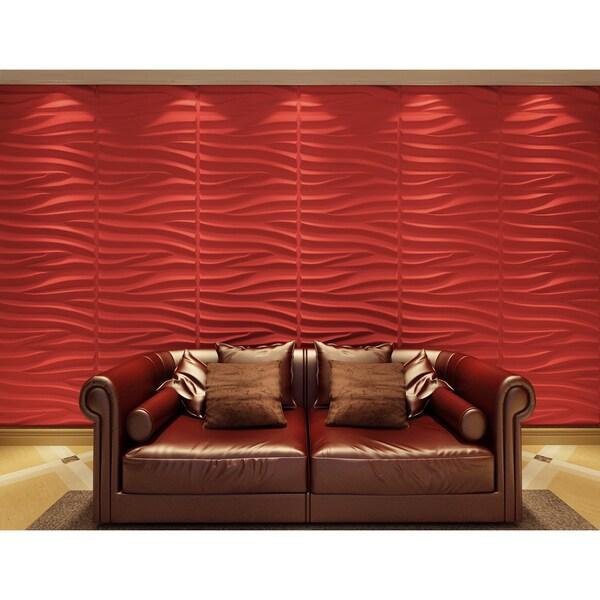 3D Wall Panels Plant Fiber Sands Design (6 Panels Per Box). Opens flyout.