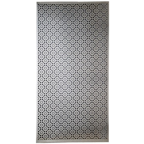 Silver Colored Metal Sheet 12inX24in-Mosaic