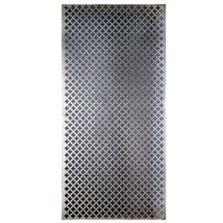 Silver Colored Metal Sheet 12inX24in-Cloverleaf