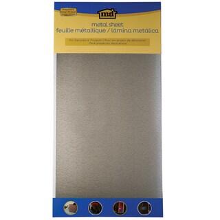 Galvanized Steel Sheet 12inX24in-Silver