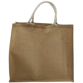 Burlap Jute Bag 20inX7inX18in-Natural