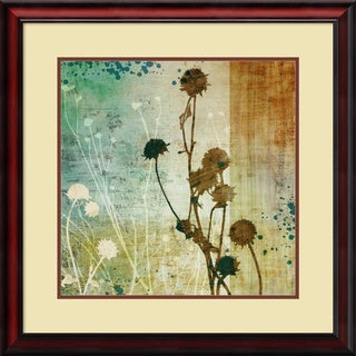 Tandi Venter 'Organic Elements I' Framed Art Print 27 x 27-inch