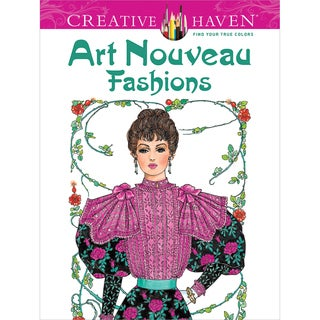 Dover Publications-Creative Haven Art Nouveau Fashions