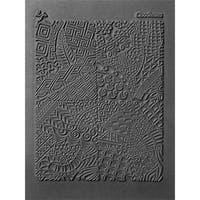 Lisa Pavelka Individual Texture Stamp 4.25inX5.5in 1/Pkg-Cloodettes