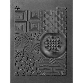 Lisa Pavelka Individual Texture Stamp 4.25inX5.5in 1/Pkg-Illusionary