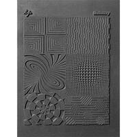 Lisa Pavelka Individual Texture Stamp 4.25inX5.5in 1/Pkg-Illusionary