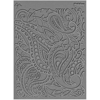 Lisa Pavelka Individual Texture Stamp 4.25inX5.5in 1/Pkg-Paisley