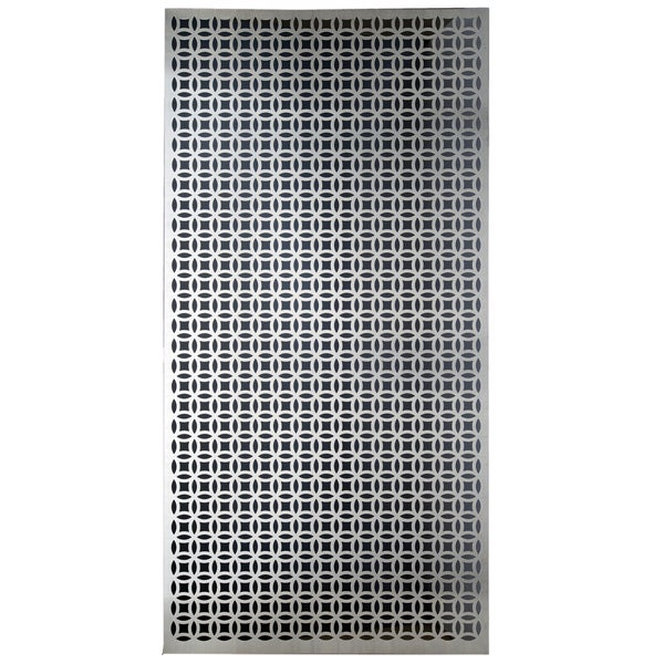 Shop Silver Colored Metal Sheet 12inx24in Elliptical