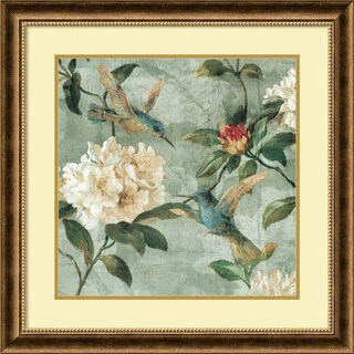 Framed Art Print 'Birds of a Feather I' by Renee Campbell 29 x 29-inch
