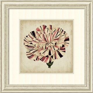 Framed Art Print 'Pop Floral VI' by Vision Studio 27 x 27-inch