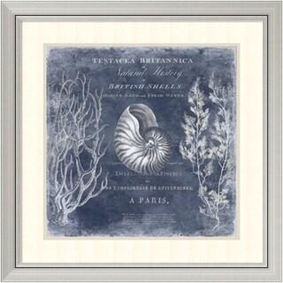 Deborah Devellier 'The Deep Blue Sea I' Framed Art Print 29 x 29-inch