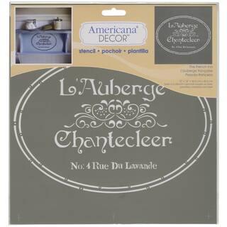 Americana Decor Stencil-The French Inn https://ak1.ostkcdn.com/images/products/9195165/P16367850.jpg?impolicy=medium