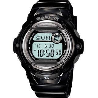 Casio Women's Baby-G BG169R-1 Black Resin Quartz Watch with Digital Dial|https://ak1.ostkcdn.com/images/products/9195270/P16368134.jpg?impolicy=medium