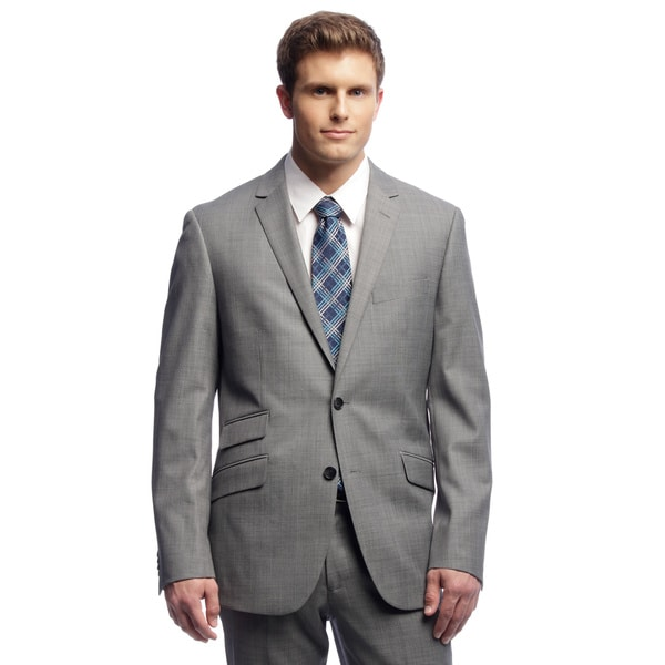 Shop Kenneth Cole New York Men s Trim Fit Grey Suit Separates Coat ... 4182becd9