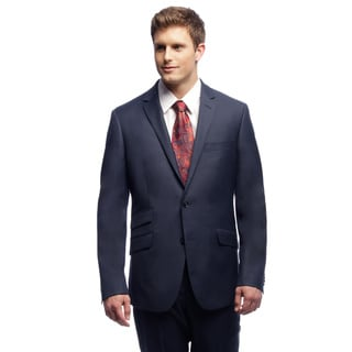 Kenneth Cole New York Blue Trim-fit Suit Separates Coat