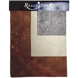 Leather Trim Pack 3/Pkg-Assorted