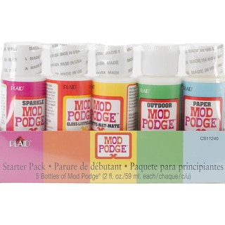Mod Podge Starter Pack 2oz 5/Pkg