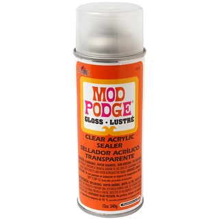 Mod Podge Clear Acrylic Aerosol Sealer 12oz-Gloss