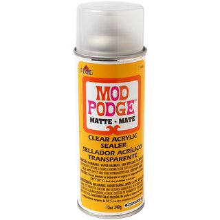 Mod Podge Clear Acrylic Aerosol Sealer 12oz-Matte