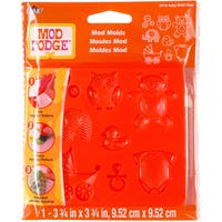 Mod Podge Mod Mold 3.75inX3.75in-Baby