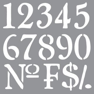 Americana Decor Stencil-Olde World Numbers|https://ak1.ostkcdn.com/images/products/9195576/P16368022.jpg?impolicy=medium