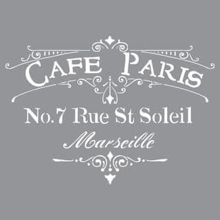 Americana Decor Stencil-Cafe Paris|https://ak1.ostkcdn.com/images/products/9195685/P16368342.jpg?impolicy=medium