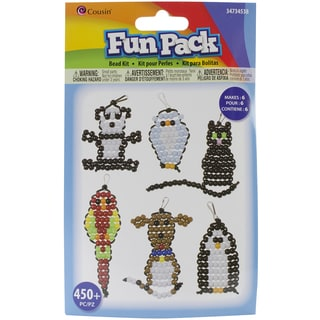Fun Pack Acrylic Animal Beady Kit