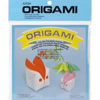 Origami Paper 100/Pkg-Small Solid 5.875inX5.875in