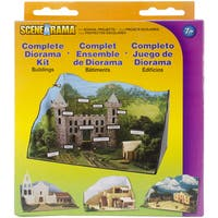 Complete Diorama Kit-Buildings