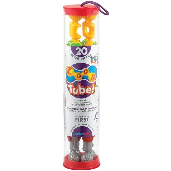 ZOOB Tube Set 20pc-Primary Colors