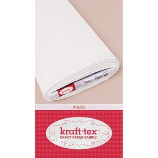 Kraft-Tex Kraft Paper Fabric-White 19inX10yd